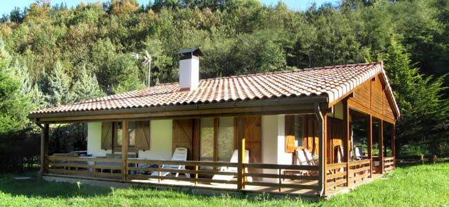 Carol 89 m2 casas de madera econ micas en el puerto de for Fabricantes de casas de madera
