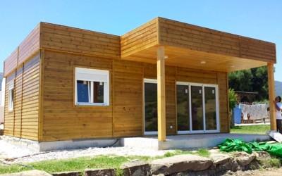 Casas de madera modernas casa moderna con detalles en for Precios de casas modernas