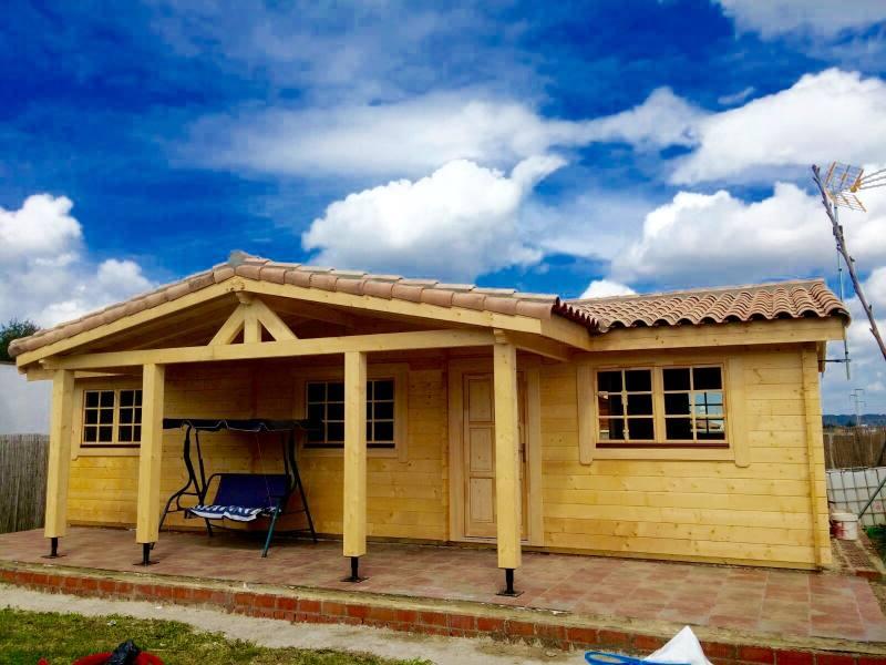 Juan Parra Especial 76 M2 Casas De Madera En El Puerto
