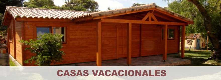 Casas vacacionales